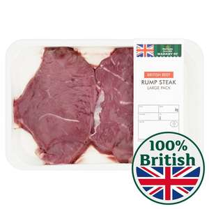 45%  off Rump Steak at Morrisons.  Now £8 per kilo.