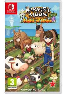 Harvest Moon: Light of Hope Special Edition (Nintendo Switch pre-order) @ Base (Delivered)