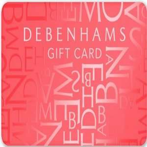 £5 Debenhams voucher on c+c orders - no min spend @ Debenhams