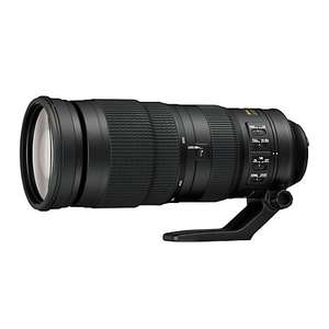 Nikon AF-S 200-500 £1122 (£1022 with trade-in) @ John Lewis