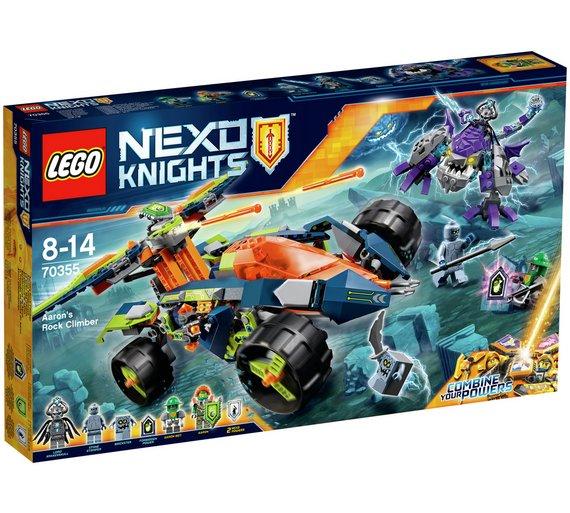 Lego Nexo Knights 70355 Aarons rock climber £28.99 was £49.99 @Argos