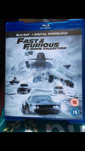 Fast and furious 8 movie collection on blu ray only £1 at poundland (Wolverhampton store)