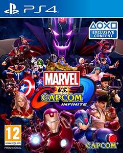 Marvel Vs Capcom Infinite (PS4) - £11.19 (used) Sold and Despatched by Boomerang Rentals via Amazon