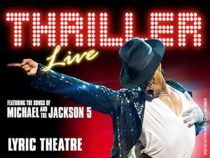 52% off Thriller Live in London - Tickets from £36pp via londontheatredirect