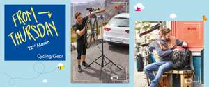 Lidl, 22nd March 2018 Cycling Event is back. Multiple deals especially on pannier bags, multiple styles