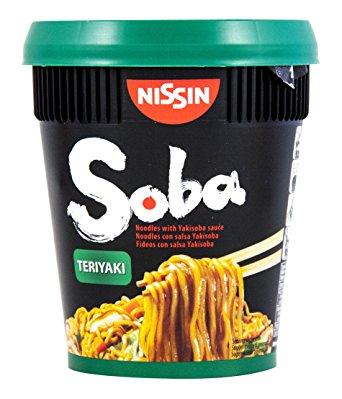 £1 Nissin Soba Instant cup Noodles 90G at Asda