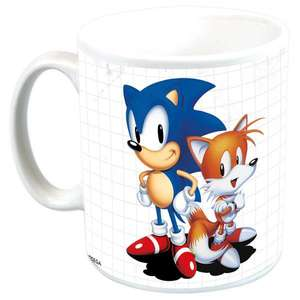 Sonic The Hedgehog 25th Anniversary Mug £2.99 + £1.00 delivery at Forbidden Planet