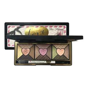 Too Faced Love 15 Colour Eyeshadow Palette £19.99 (RRP £39) Or Too Faced Cat Eyes 9 Colour Eyeshadow Palette £19.99 (RRP £36), Free Delivery, Or £1.95 Next Day Delivery @ Justmylook