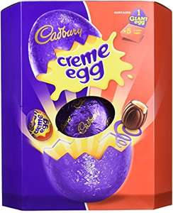 5 xPack of 5 Giant Cadbury Creme Egg Easter Eggs includes 25 small eggs £8 Prime Exclusive at Amazon