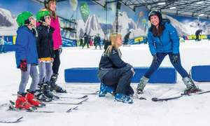 Two Hour Ski or snowboard lessons (£32) £22 with code at Snowdome Tamworth via Groupon