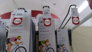 Bike chains / Accessories further reductions instore at Wilko - Portsmouth