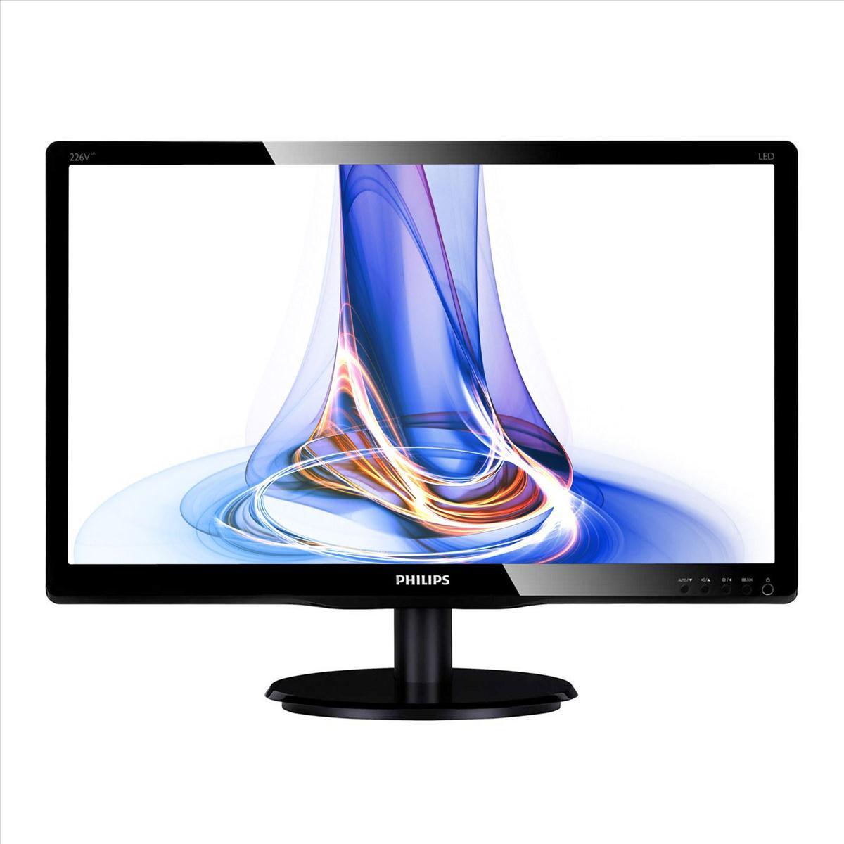 Philips 226V4LAB/00 cheap Full HD 1080p LED monitor £73.99 @ CCLOnline