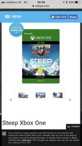 Steep for Xbox one £11.99 at CDKeys