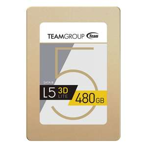 "TeamGroup 480GB L5 Lite SSD 2.5"" SATA 6Gbps £99.95 / £108.65 delivered @ OCUK"