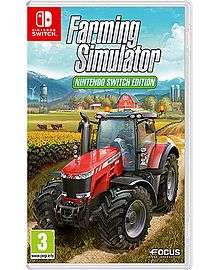 Farming Simulator Switch & £15 e-shop credit - £29.99 delivered @ Game