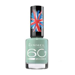 Rimmel 60 Second Nail Varnishes 50p each or 5 for £2 - £3.99 delivered @ Fragrance Direct