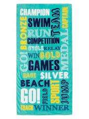 Words beach towel £1.25 @ Asda