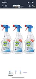 Dettol Anti-Bacterial Surface Cleanser, 750 ml - Original  Pack of 3 exclusive to prime customers s&s £3.83 @ Amazon