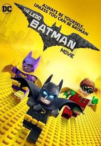 Lego Batman Movie Blu Ray £6.99 prime / £8.98 non prime @ Amazon