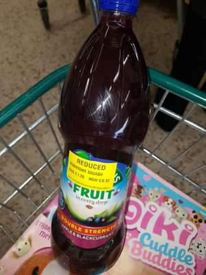 Robinson's apple and blackcurrant 1.25ltr  32p @ Morrisons - Speke