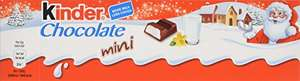 Kinder Chocolate in Mini Tube 72 g (Pack of 15) £6.06 prime / £10.31 non prime @ Amazon