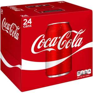 24pk cans of Coca Cola only £6 @ One stop discount offer