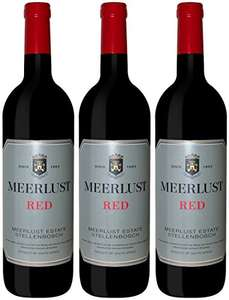 Meerlust Red 2013/2014 Wine 75 cl (Case of 3) £12.99 prime / £17.74 non prime @ Amazon