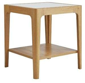 Hygena oak and cream effect end table £14.99 delivered @ eBay sold by Argos