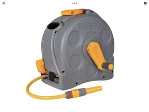 "HOZELOCK 2N1 COMPACT HOSE REEL (25M) with delivery and code ""MCHTEN"" £33.76 @ Keen gardener"