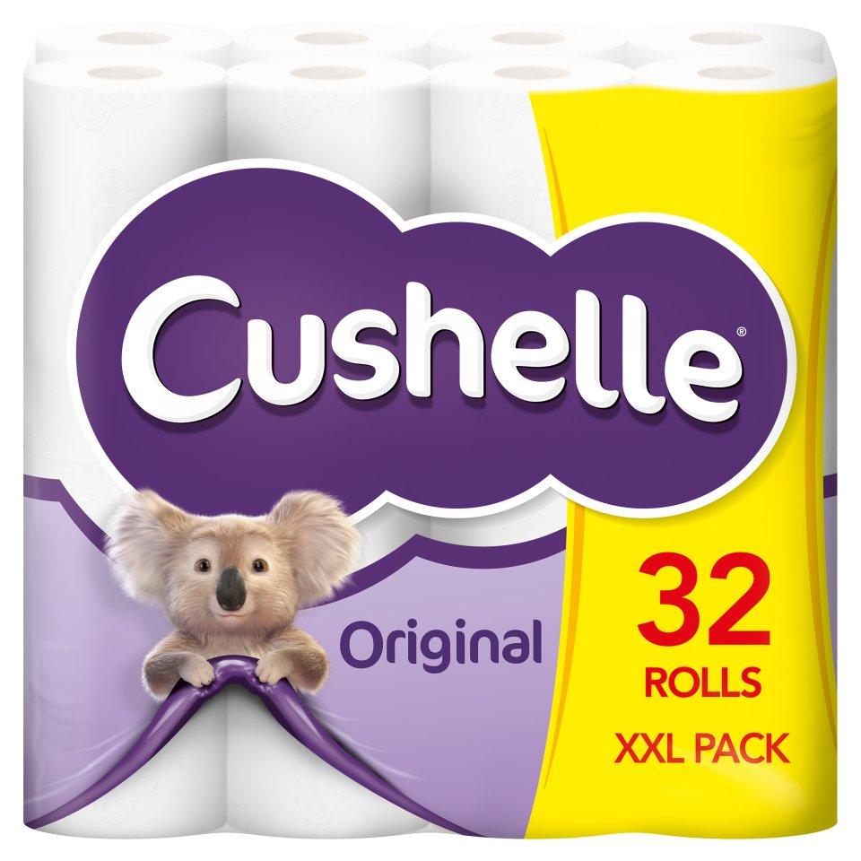 Cushelle Toilet Rolls 32 Rolls £9.99 @ Lidl