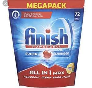 72 Finish Powerball All-in-One Lemon Dishwasher Tablets for £3 at Food Warehouse/Iceland in store