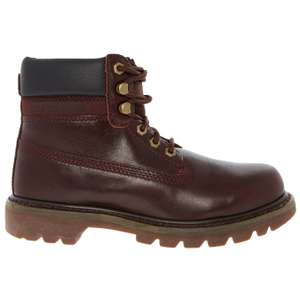 CATERPILLAR  Burgundy Colorado Leather Boots £32 at TKMaxx - £1.99 c&c