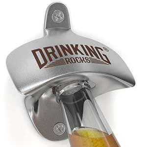 Wall mounted bottle opener £6.51 Prime / £10.50 non prime Sold by Drinking Rocks Ltd and Fulfilled by Amazon