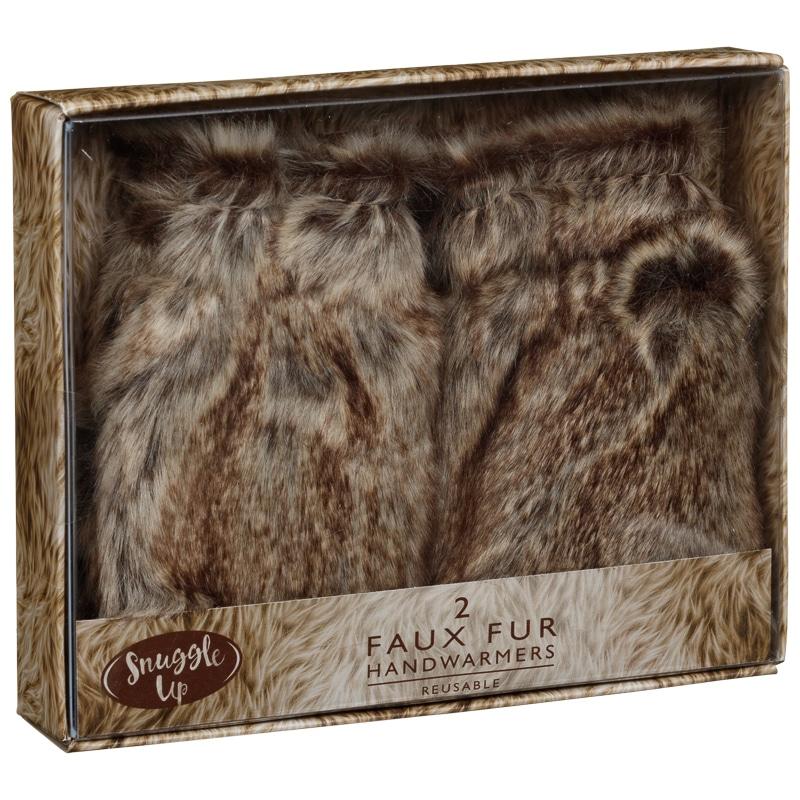Fur Hand Warmers £1.00 @ B&M