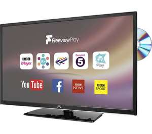 "JVC LT-32C675 32"" Smart LED TV with Built-in DVD Player (Curry's PC World) £199.99"