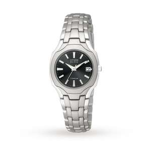 Citizen Eco-Drive Ladies Titanium Watch £110 Delivered @ GoldSmiths