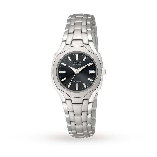 Citizen Eco-Drive Ladies Titanium Watch £110 Delivered @ GoldSmiths