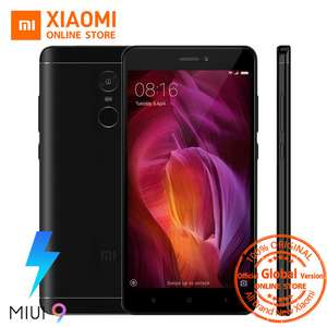 "Global Version Xiaomi Redmi Note 4 Smartphone 3GB 32GB Snapdragon 625 Octa Core 5.5"" 1080p 13.0MP FCC CE 4100mAh MIUI 9 £107.09 @ aliexpress (choose the black standard option for this price)"