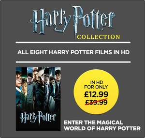 All Harry Potter films to own (not rent) on Rakuten (Wuaki) - £12.99