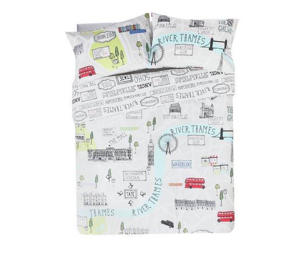 London sketch reversible bedding set - Double £11.99 @Argos