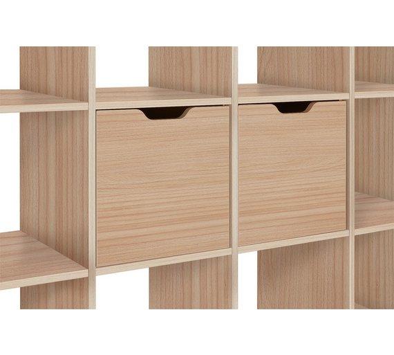 Hygena squares \ cupboard - beech effect £10.99 @ Argos