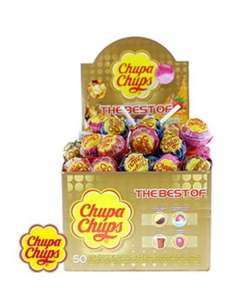 Chupa Chups Lollipops: The Best of (Case of 50) £5.00 @HomeBargains — RRP £10.00