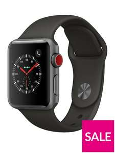 Apple watch series 3 Cellular @ Very 38mm £359, 42mm £389