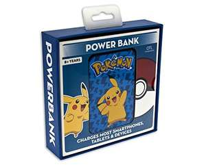 Pikachu powerbank 5000mAh £4.13 delivered @ Hale Communications on Amazon
