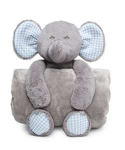 Mothercare Elephant Plush Toy and Blanket £5
