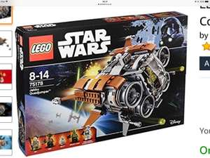 LEGO STAR WARS at Amazon for £34.99