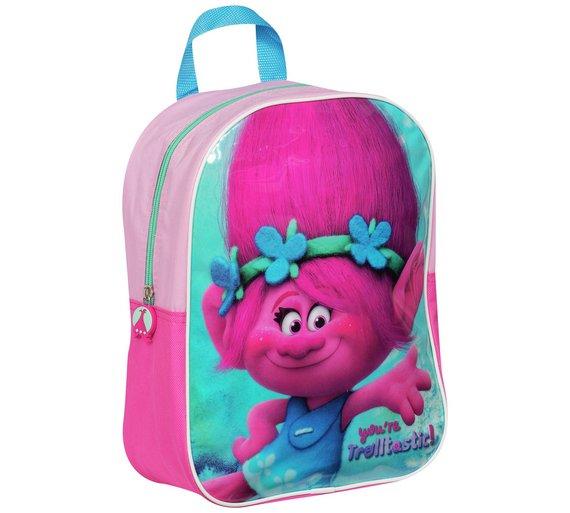 DreamWorks * Poppy Troll *  childs backpack  £4.99 @ Argos