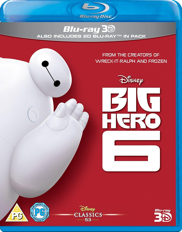 Big Hero 6 Blu-ray 3d & Blu-ray £4.99 Amazon with prime (£6.98 non Prime)