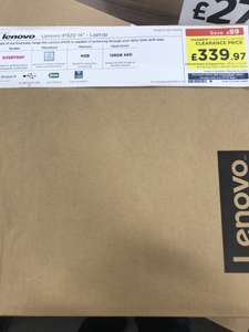 "LENOVO IdeaPad 320 14IKBN 14"" Laptop Black i5-7200U 128GB SSD currys instore for £339.97"