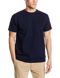 Fruit of the Loom - Mens T-Shirt Super Premium Plain Deep Navy Size XX-Large XXL £1.80 delivered - Dispatched from and sold by TEAM SOUTH WEST Ltd - Amazon